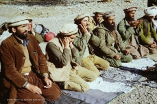 Driven by their faith, Massoud, Dr Husain and key commanders gather in prayer as they did five times a day, every day.