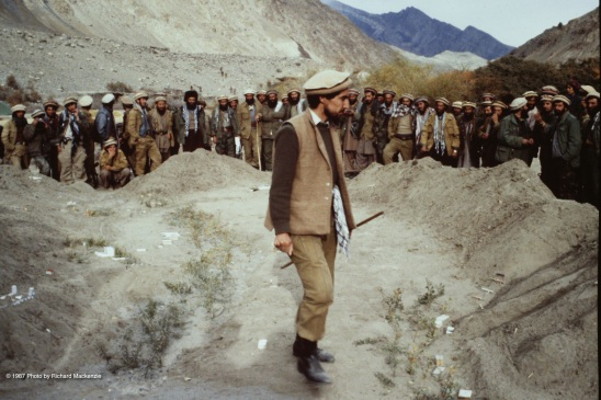 The exact details and accuracy of the sand table model gives Massoud's mujahideen a great advantage in preparations for Keran and Minjon.