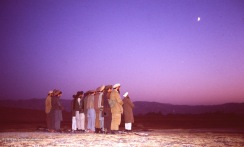 Evening prayer in Northern Afghanistan.