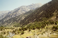 The wonder of a Nuristan valley, a mythical place.