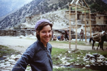 Dr. Kate Cita in Nuristan -- an Angel of Mercy to me and many others.