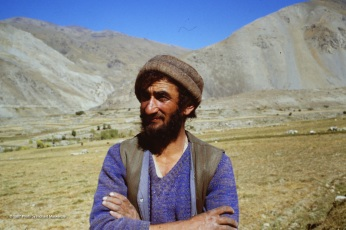 My newfound friend in 1987 in Afghanistan, Rahman Baig.