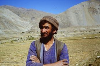 My newfound friend in 1987 in Afghanistan, Rahman Baig.