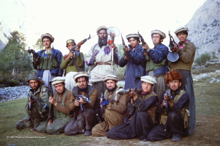 The gang of Gulbuddin Hekmatyar's followers who ruled an area just west of Kantiwah where BBC cameraman Andy Skrzypkowiak was murdered. I was also a target until Rahman Baig saved the moment.