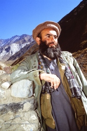 Saranwal Mahmoud Khan -- then the Emir of Panjshir, reporting to Ahmad Shah Massoud.