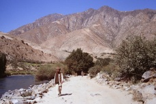 Autumn approaches the Panjshir Valley in Afghanistan in 1987.