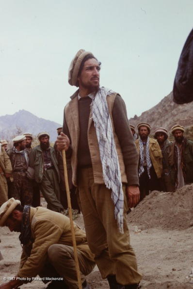 Massoud stands tall on the eve of battle.
