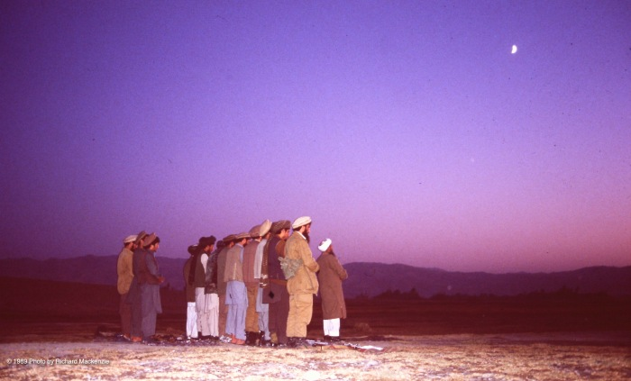 Evening Prayer in Afghanistan