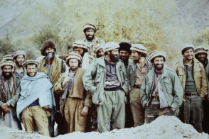 A moment of humor during Massoud's speech.